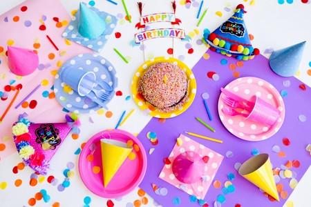 menaje de cumpleaños