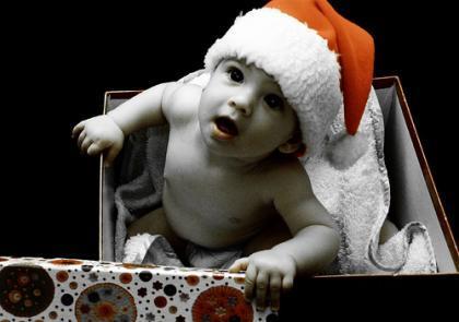 La foto de tu bebé: regalito de Navidad