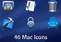 """Sustituye los iconos de tu Mac por unos con estilo """"Quicktime X"""""""