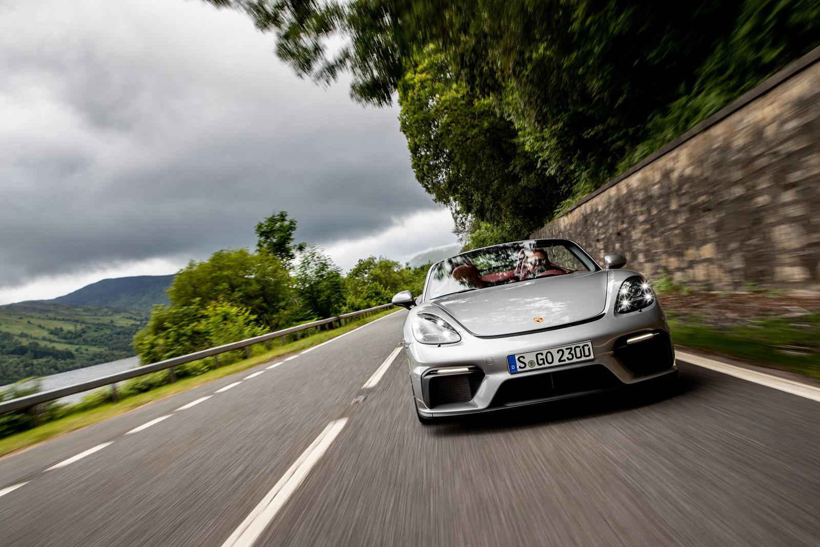 Foto de Porsche 718 Spyder (prueba contacto) (169/296)
