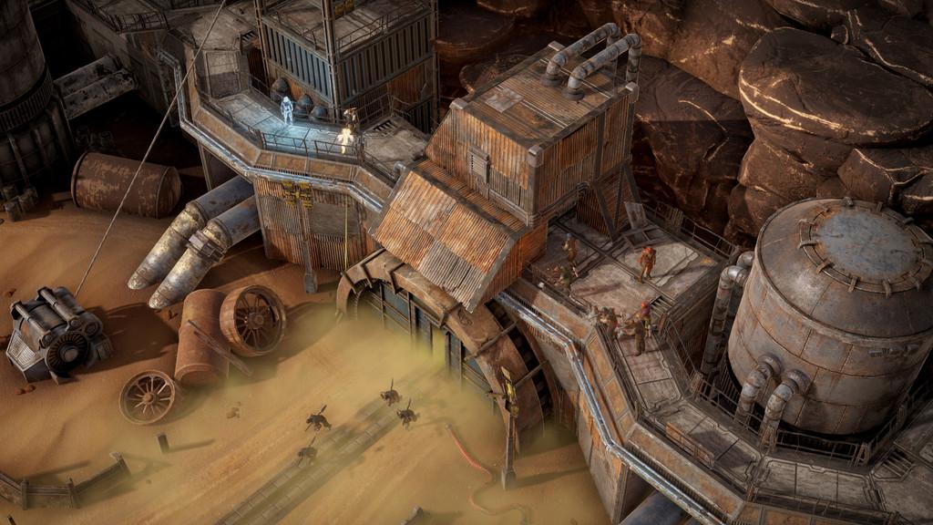 Gray Zone es una prometedora mezcla de RPG y RTS que tiene el honor de ser el primer juego que descubrimos este año