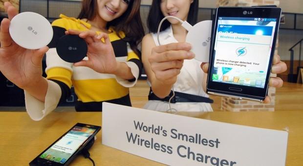 LG nos presenta el cargador inalámbrico más pequeño
