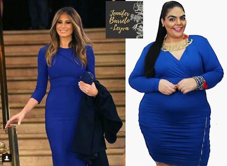 Esta modelo se ha convertido en un referente del 'body positive' latino con sus recreaciones de los outfits de las celebrities