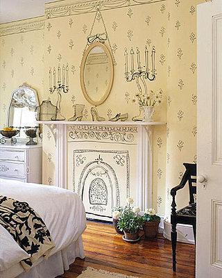 Pinta la decoración de tu pared y aligera la habitación