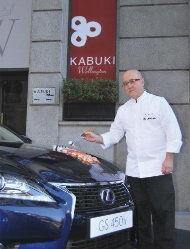 Lexus y Restaurantes Kabuki firman un delicioso acuerdo de colaboración
