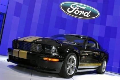 2006 Shelby Mustang GT-H en el salón de Nueva York