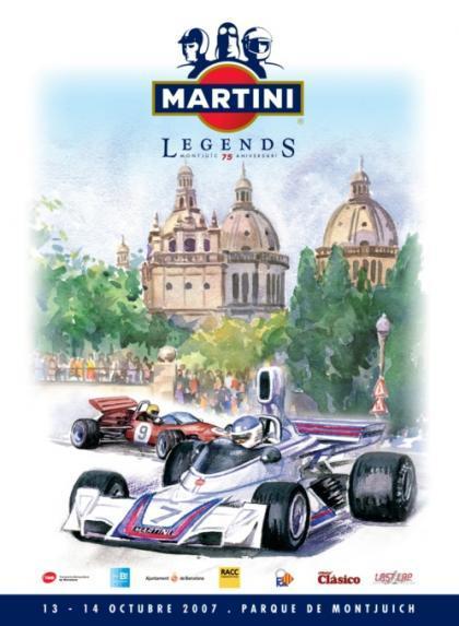 Merecido homenaje al circuito de Montjuïc