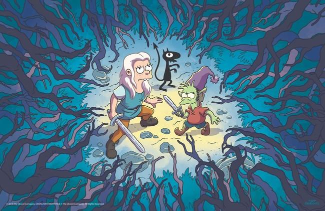 Así luce 'Disenchantment', la nueva serie animada de Matt Groening que llegará en exclusiva a Netflix en agosto de este 2018
