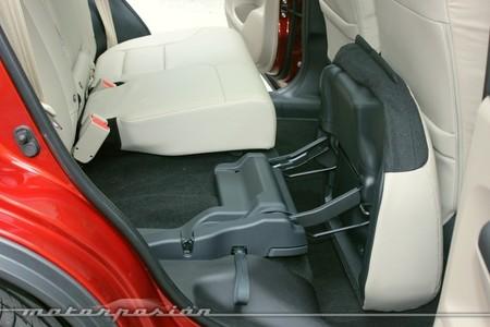 Honda CR-V, plegado de asientos
