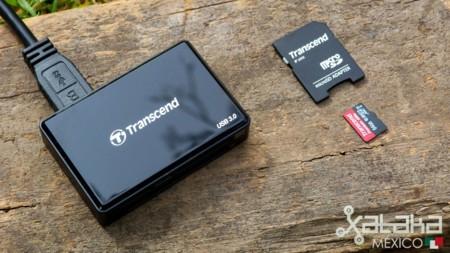 Transcend RDF8K y Premium 400X SDXC UHS-I 64GB, análisis