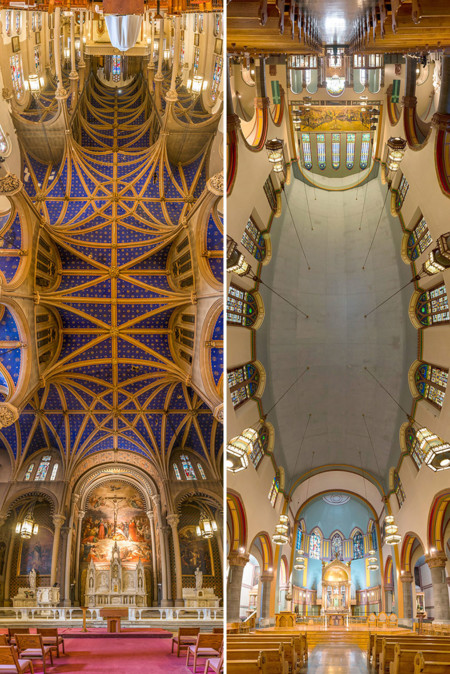 Vertical Panoramic Churches New York Richard Silver 2