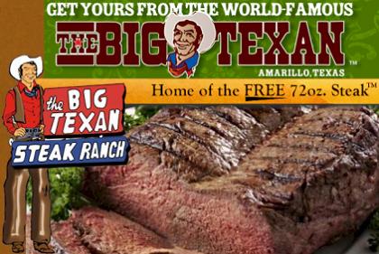 Un filete de dos kilos gratis si te lo comes en una hora