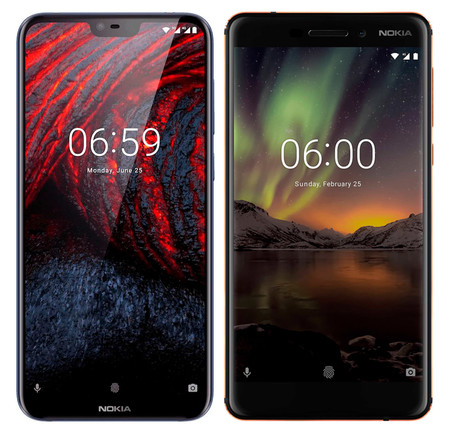 Nokia 6.1 Plus vs Nokia 6.1