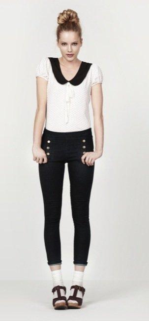 Zara, nuevo lookbook para el Verano 2010: blanco y negro look