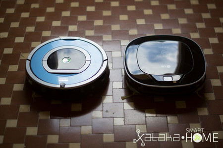 Roomba 790 vs Hom Bot Square - 1