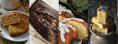 Los cinco bizcochos más buscados de Internet y sus recetas más fáciles y deliciosas