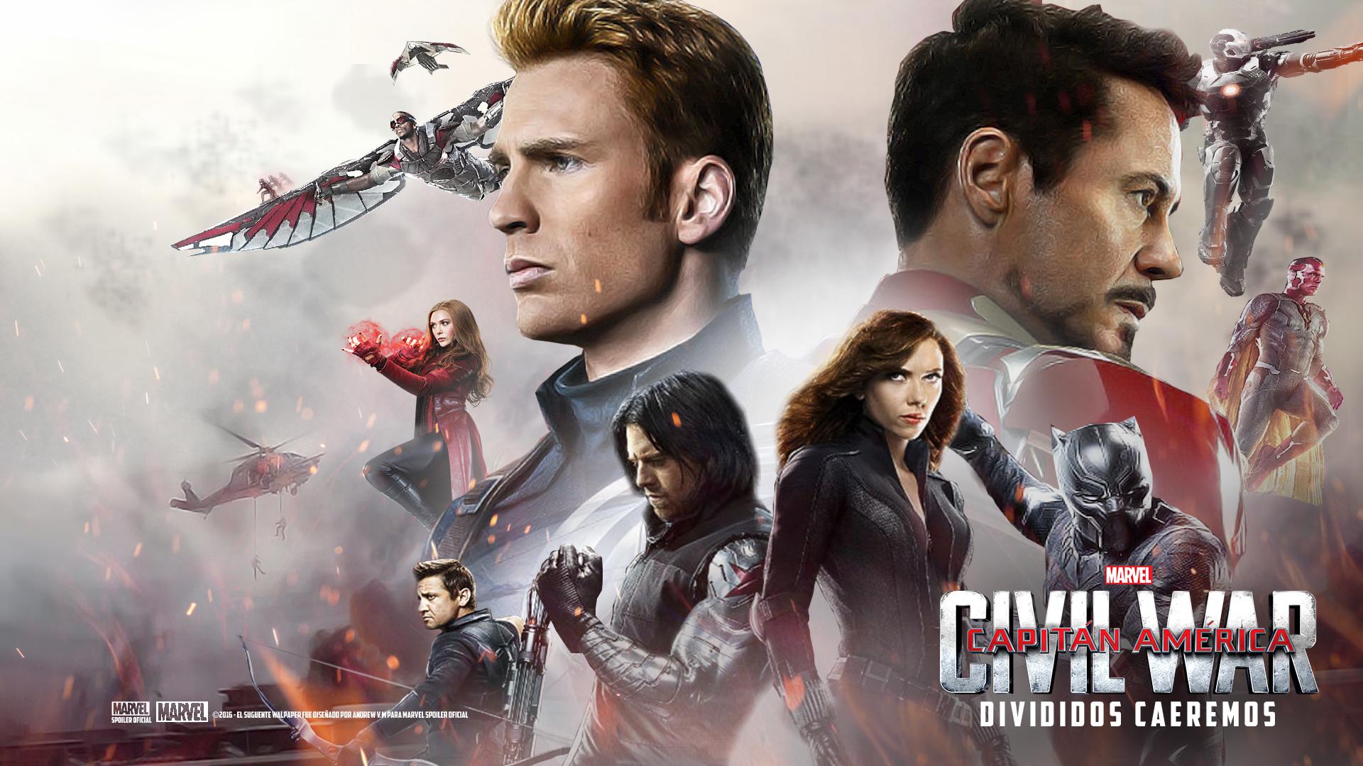 Foto de 'Capitán América: Civil War', los carteles de la película (22/22)