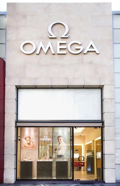 Omega se estrena en Santiago de Chile con su primera boutique
