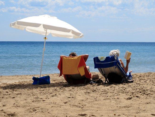 Libro y playa