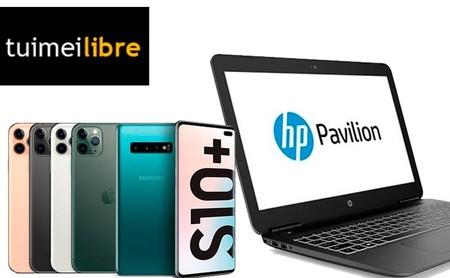 Ofertas de la semana en tuimeilibre: precios de chollo para los iPhone, los Galaxy S10 de Samsung o para potentes portátiles HP
