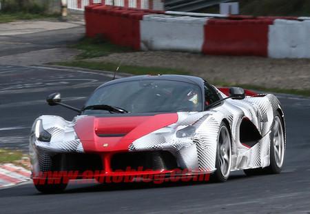 LaFerrari hace pruebas en el Nürburgring