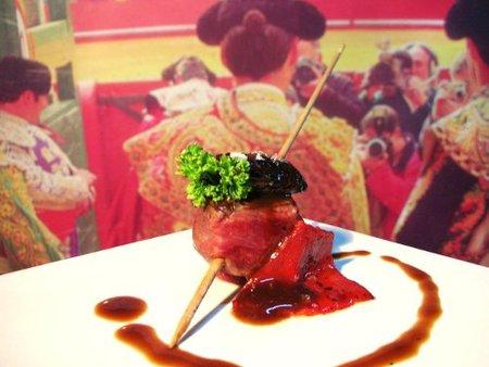 Homenaje gastronómico al toro