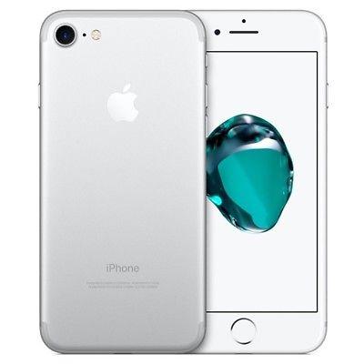 APPLE IPHONE 7 32GB TELEFONO MOVIL LIBRE SMARTPHONE PLATA SILVER 4G MN8Y2QL/A