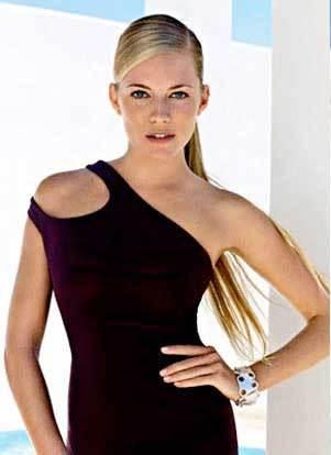 Sienna Miller en Vogue
