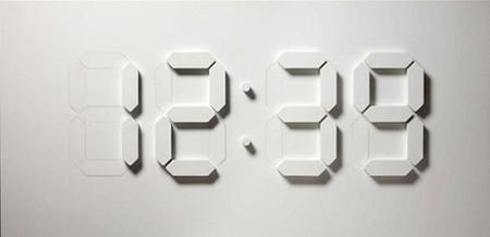 Elegante reloj digital en 3D controlado por Arduino