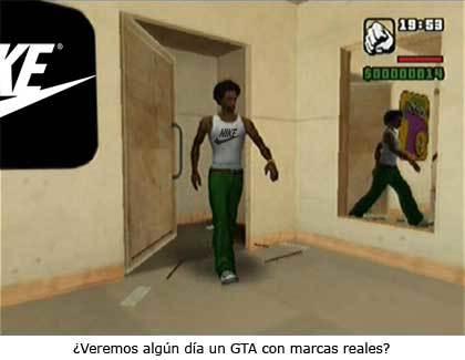 Marcas reales en GTA San Andreas