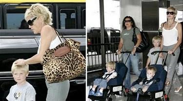 Sharon Stone y el botox en los pies