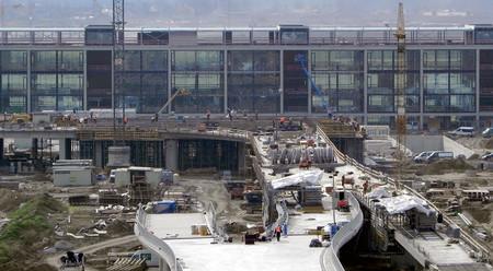 Baustelle Flughafen Berlin Brandenburg 2010