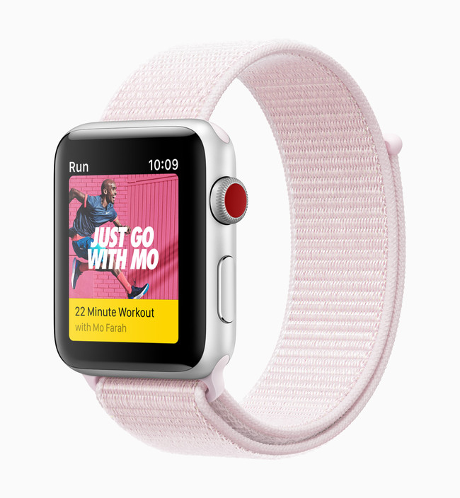 Apple Watch Series3 Nike™ Sports Pink 032118