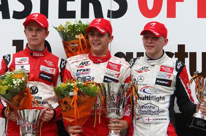 Jules Bianchi se adjudica el Masters de Fórmula 3 en Zolder