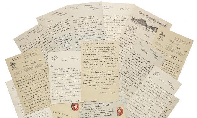 Arthur Conan Doyle Letter 009