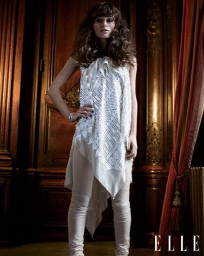 Keira Knightley en la portada de Elle, Marc Jacobs