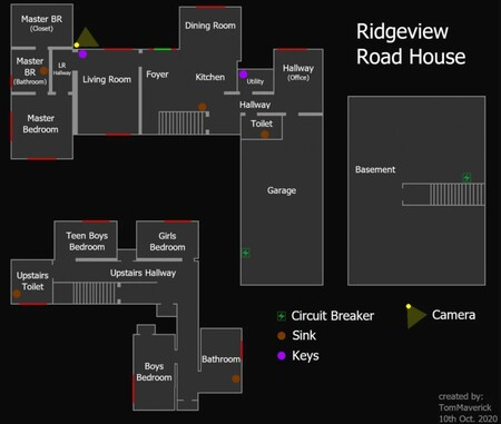 Mapa Ridgeview