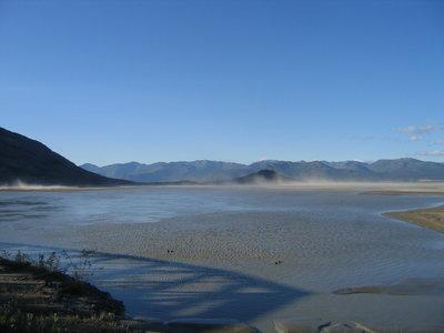 El cambio climático hace desaparecer un río canadiense en solo cuatro días