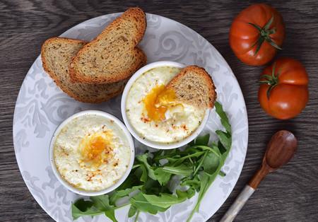 Huevos en cocotte