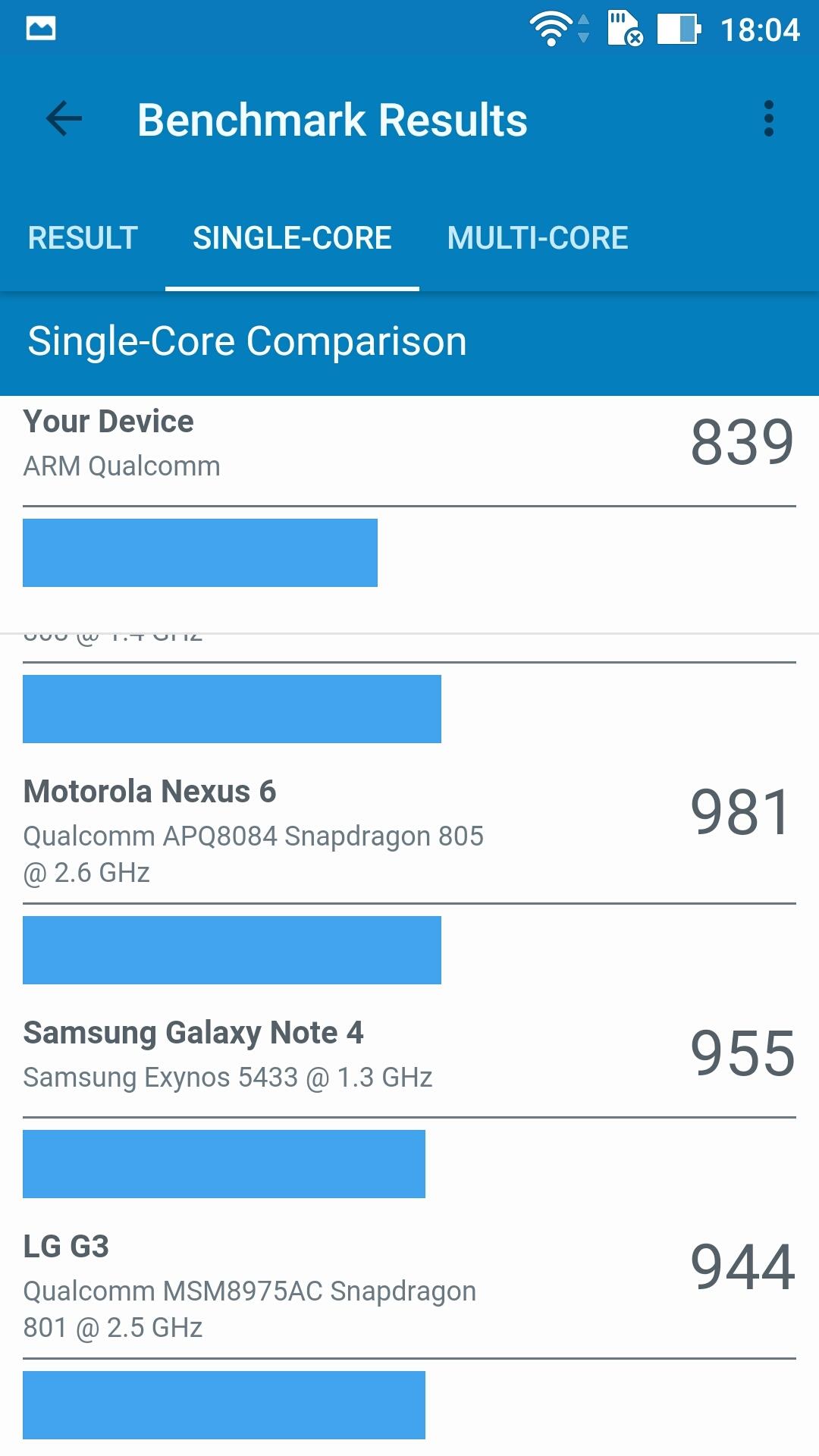 Foto de ASUS Zenfone 3 (ZE552KL), benchmarks (17/29)