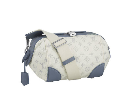 Clutch Louis Vuitton Squat-Denim-Blue