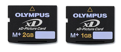 Nuevas xD type M+ de Olympus