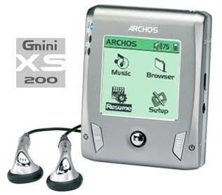 Archos Gmini XS200: 20Gb de MP3 en la palma de tu mano