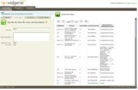 Widgenie, convierte los datos en gráficas insertables en sitios web