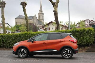 Renault Captur, presentación y prueba en Biarritz (parte 1)