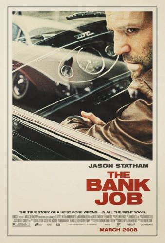 Póster de 'The Bank Job', con Jason Statham