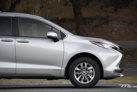Toyota Sienna 2021 Minivan Hibrida Lanzamiento Mexico 6