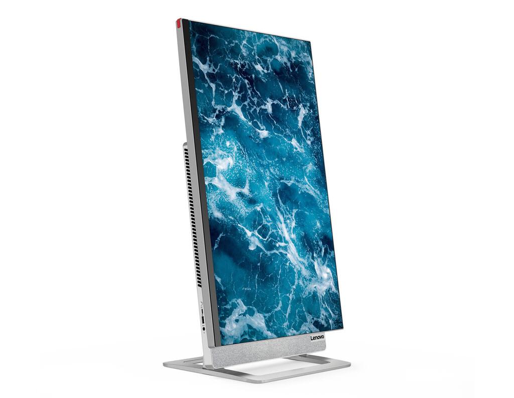 Lenovo Yoga AIO 7: parece un PC «todo en uno» más, pero no lo es; se desmarca con su sorprendente pantalla IPS 4K rotatoria de 27