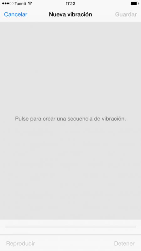 iPhone vibracion