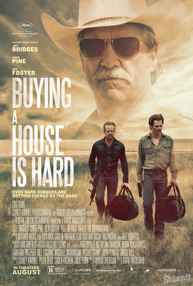 Honest Posters Oscars Hell Or High Water